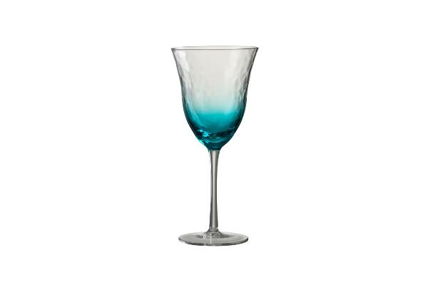 Wijnglas-aqua