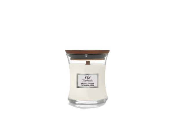 woodwick mini white tea/ jasmine